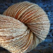 Autumn Gold naturally dyed with onion skins & quebracho red