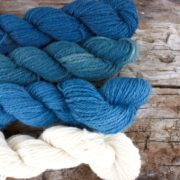 Blues mini skeins