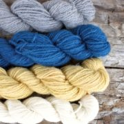 Cheery mini skeins