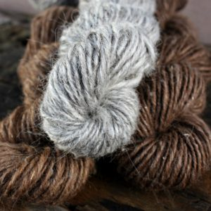 Fawn, Silver and Toffee Icelandic Lopi