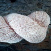 Killen Sock Faded Rose naturally dyed with avocado