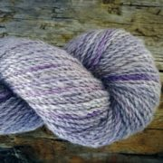 Killen Sock Lilac naturally dyed with logwood & iron