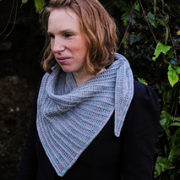 Lode Shawl by Clare Devine - photo by Kate O'Sullivan