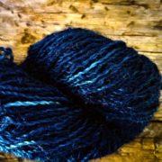 Longwool Blend Deep Indigo naturally dyed with indigo