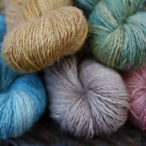 Longwool Blend Naturally Dyed