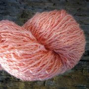 Longwool Blend Turkish Rose naturally dyed with madder