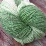 Peppermint Cream dyed with Chlorophyllin
