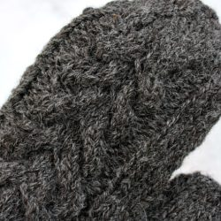 black isle yarns local small batch wool mittens