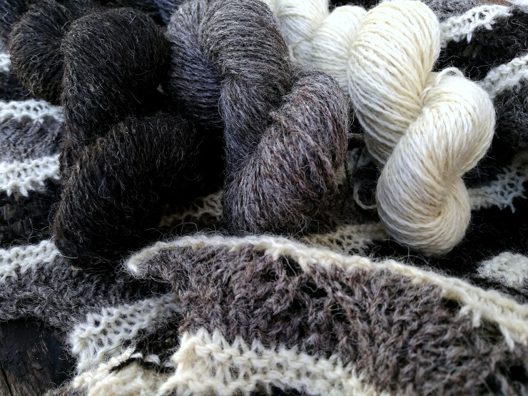Yarn from Monkey Face, Frankenstein and Horse