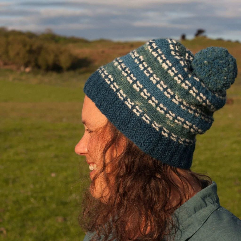 1a89902915c The Rhidorroch Hat is a beautiful new pattern designed in my Coulmore yarn  (Organic First Clip Cheviot) by Emily K Williams. The hat is named after ...