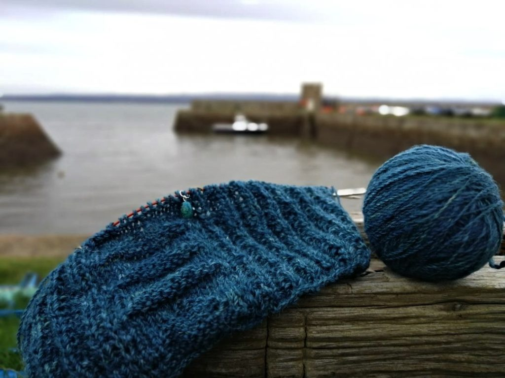 709482f430c ... Christina Campbell s (aka The Healthy Knitter) annual worldwide Knit  Along to promote peaceful mindful knitting during the hectic holiday season.