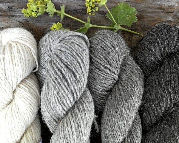 Cream, Silver, Grey & Charcoal Gotland DK