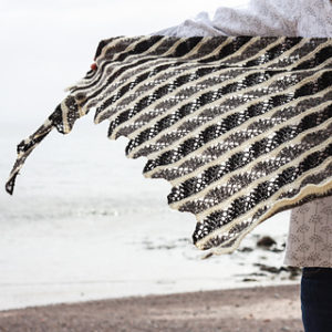 Eathie Shawl by Emily K Williams