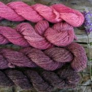 Gotland Alpaca (50:50%) DK Cochineal Minis Set