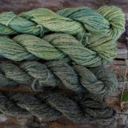 Gotland Alpaca (50:50%) DK Indigo/Rhubarb/Cow Parsley Minis Set