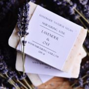 Lavender & Oat Soap - photo by Nurturing Soul