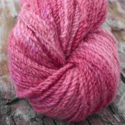 Raspberry dyed with Lac
