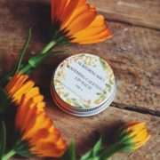 Soothing Calendula Lip Balm - photo by Nurturing Soul