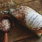 Wild Flower Himalayan Bath Salts - photo by Nurturing Soul